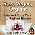 Living Earth Beauty - Raw Vegan Organic Skincare and Body Products